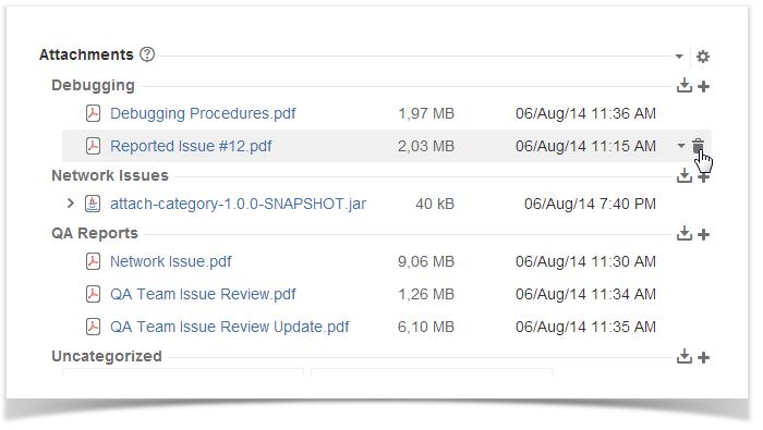 Deleting Attached Files - StiltSoft Docs - Smart Attachments