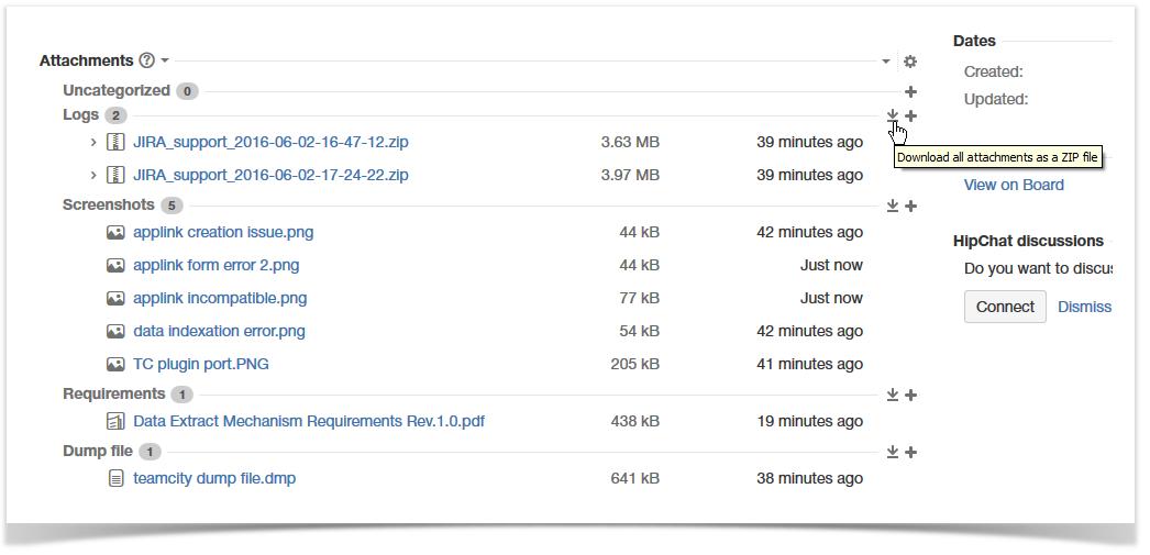 Downloading Attachments - Smart Attachments - StiltSoft Docs