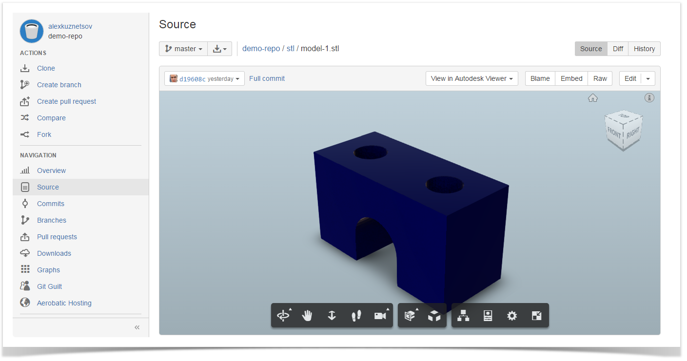 autodesk viewer file viewer for bitbucket stiltsoft docs